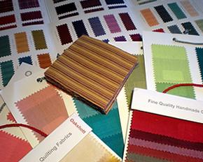 Carta de colores para tejidos ignífugos M1